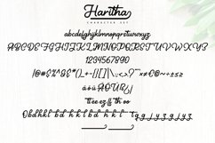 Haritha   Handcrafted Monoline Script Font Product Image 5