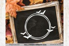 Halloween wreath SVG Set, Pumpkin Thanksgiving SVG Product Image 6