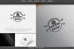 pancake, vintage bakery logo Ideas. round label. Inspiration Product Image 1