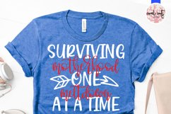 Surviving motherhood one meltdown at a time - Mother SVG EPS Product Image 2