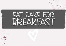 Cake Batter - A Handwritten Font Product Image 5