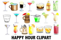 Happy Hour Clipart Product Image 1