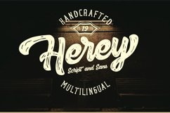 Herey - Script and Sans Product Image 1