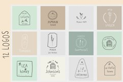 Greenfarm. Rustic Sans Serif font| Dooldles | 12 Logos Product Image 6