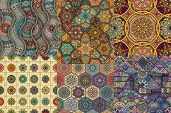 Tile mosaic seamless patterns set Product Image 5