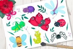 Cute cartoon vector insects Product Image 1