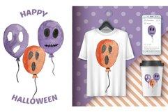 Halloween watercolor Product Image 4