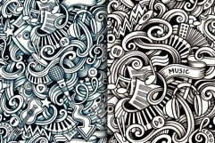 5 Music Doodles Graphics Patterns Product Image 4