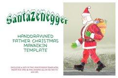 Xmas Santazenegger - Hand drawed Puppet Maker Product Image 2
