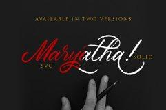 Maryatha SVG Font Product Image 6