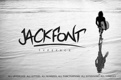 Jackfont Script Typeface Product Image 5