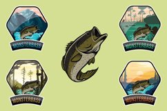 Monsterbass Badges set Product Image 1