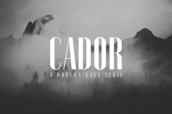 Cador Modern Sans Serif Font Product Image 1