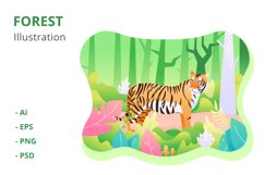 Forest Illustration Product Image 1