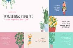 The Floral Craft Font Bundle Product Image 7