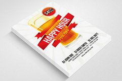 Happy Hour Flyer Template 03 Product Image 3