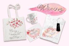 Schonheit font & watercolors. Product Image 6