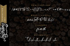 Leightonz   A Finely Handcrafted Monoline Script Product Image 2