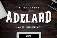 Adelard Scratches Font Product Image 1