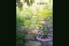 Garden scene creator PNG Product Image 3