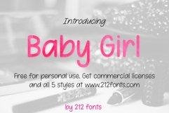 212 Baby Girl Handwritten OTF Font Family Product Image 2