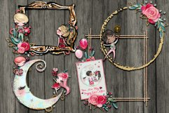Valentine Frame Clusters and Quick Pages Product Image 3