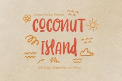 Coconut Island   Display Font Product Image 1