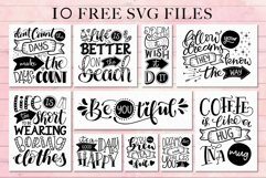 Use Your Words catchwords font with FREE SVG designs Product Image 5