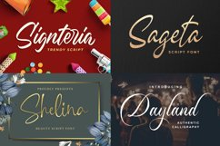 New Year Big Bundle - Crafting Fonts Collection Product Image 4