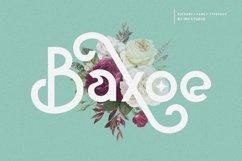 Baxoe | Elegant and Fancy Typeface Product Image 1