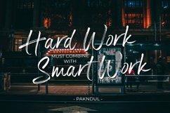 Panterick // Handwritten Font Product Image 3