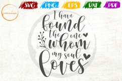 I Have Found The One Love Couple Anniversary Quote Art Product Image 1