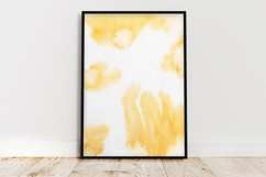 Abstract pattern Watercolor paint brush Mixed Media Art, Product Image 1