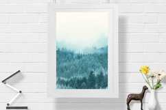 Snow Forest in Fog - Wall Art - Digital Print Product Image 1