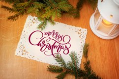 Merry Christmas Quotes and Objects Calligraphy Collection Product Image 3
