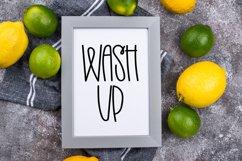 Homemade Lemonade - A Swirly Tall Font Product Image 5