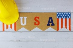 Flag of United States of America Happy Labor Day Product Image 1