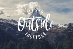 Mountain Script - Brush Fonts Product Image 3