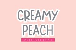 Creamy Peach Product Image 1
