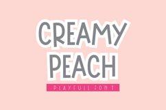 Creamy Peach Product Image 1