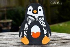 Penguin Easter egg holder design SVG / DXF / EPS Product Image 3