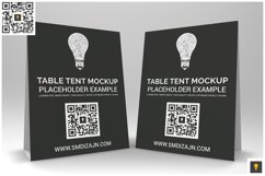 Table Tent Mockup Product Image 4