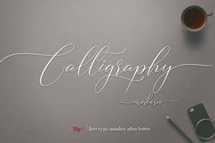 Camelia Calligraphy Modern Product Image 5