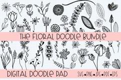 Floral Doodle Bundle Silhouette and Cricut Product Image 1
