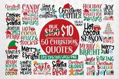 Big Merry Christmas Bundles - 50 SVG PNG EPS DXF JPG Product Image 1