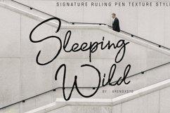 Sleeping WIld Signature Product Image 1