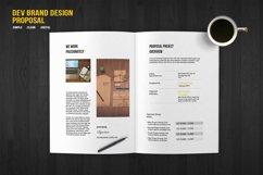 DEV Brand Design Proposal Template Product Image 5