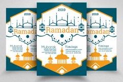 Ramadan Mubarak Flyer Product Image 1