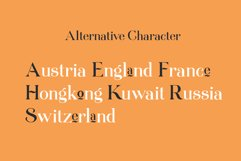 Queenstown serif font Product Image 4