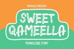 Web Font Sweet Qameella Font Product Image 1